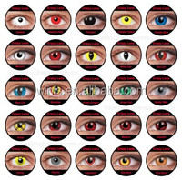 Wholesale magic color contact lenses crazy eyes contact lens