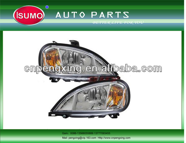 Truck freightliner head lamp A06-51041-000/A06-51041-001/auto freightliner head lamp