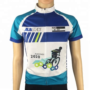 da917fbaaa9 wholesale quick dry polyester lightweight customized sublimation print  cycling tops