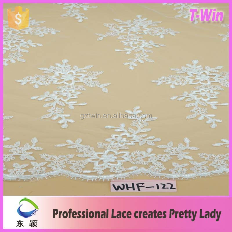 Wholesale Italian Lace Fabric Embroidery French Lace New Design Embroidery Lace