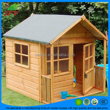 Hot sale of wooden garden house made of log/timber with good price