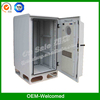 outdoor telecom cabinet rack enclosure with heat exchanger