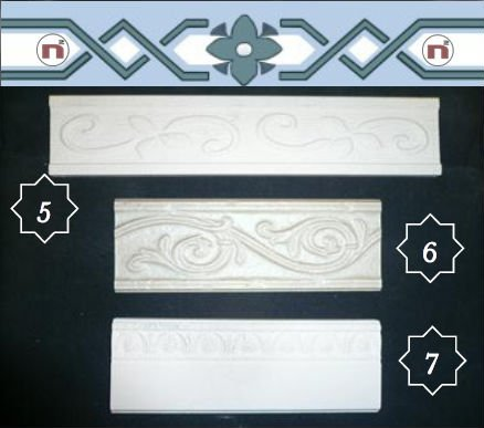 Ceramic Border Tiles