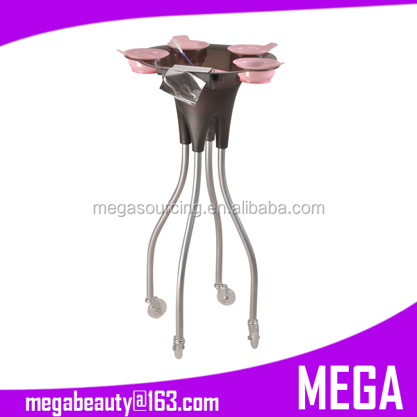 Professional Hair Tinting Trolley Stand Octopus Trolley