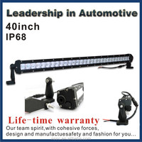 Auto Lighting System single row led light 150cc buggy from ISO facotry