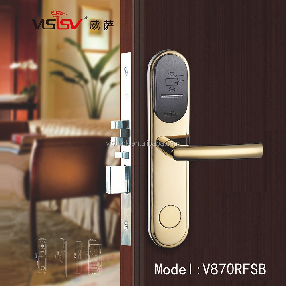 ANSI UL Fire Rated Hotel Mortise Door Lock,hotel card lock,handle door lock