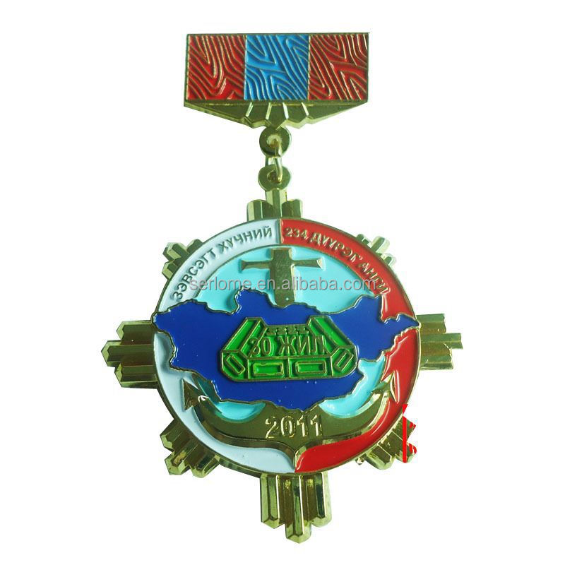 UV changing color metal medal souvenir miraculous medal