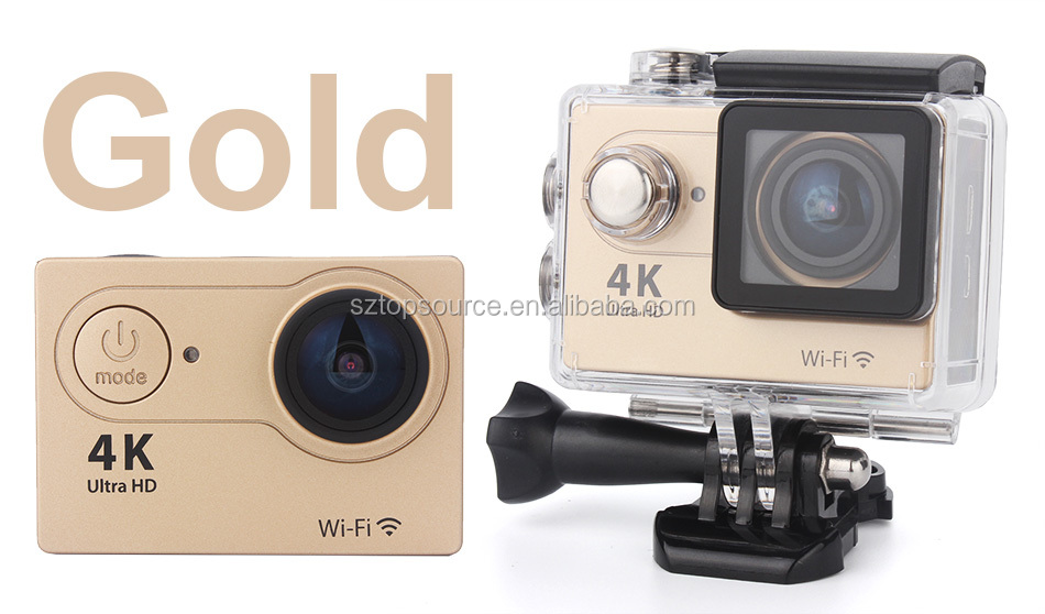 wifi hd 4k sport camera 16mp pixels 4k 30 fps better than xiaomi yi action camera 2.7k 30 fps action cam