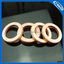 valve cover and heat exchanger copper gasket washer