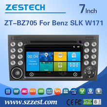 ZESTECH factory sale wince system car radio for Mercedes Benz SLK Class W171 R171 car gps with car cd dvd Bluetooth Radio Audio