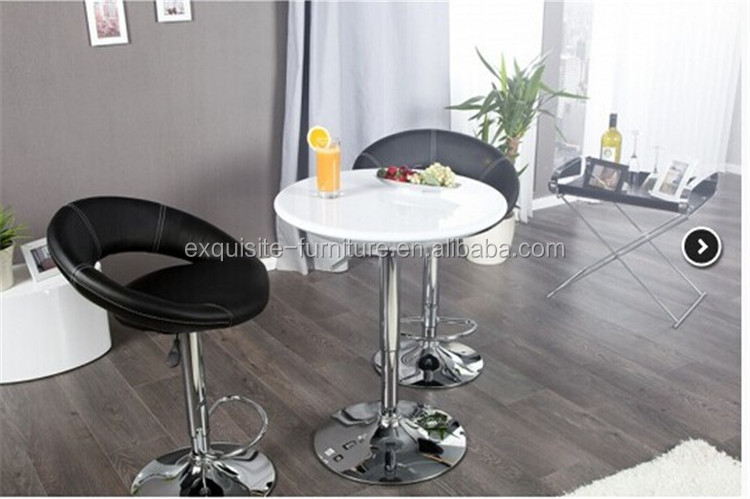 Portable lightweight pop up bar table bar furniture for home use bar standing