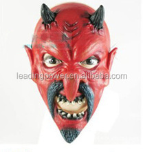 halloween mask / horrorable mask / red face with horn