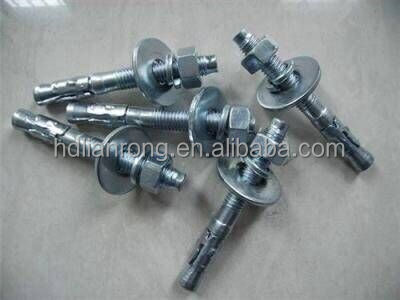 Hex nut Expansion Bolt/Sleeve Anchor