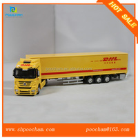 50 1 DHL diecasting all alloy model trucks