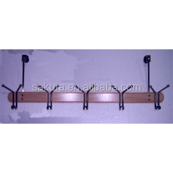 utility hanger hooks wooden door hanging wall clothes hooks coat hooks concrete AE-914A-3/4/5