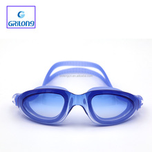 Stylish design for swimming goggles with diopter headstrap custom logo goggle