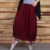 Latest design women pants design women long skirts with pocket