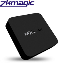 Newest MXQ-4K 2.4GHz WIFI 3D HD 4K output 1+8GB firmware update android 4.4 smart tv box