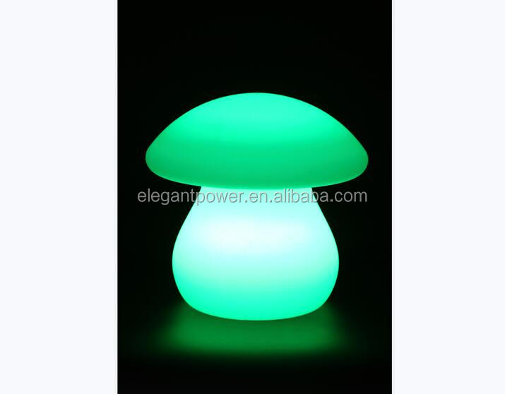 <strong>CE</strong>/EMC/RoHS certified LED /China factory sale LED color change light in mushroom shape