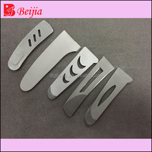 Latest new design functional Eco-friendly sleeve tab/sleeve cuff/ Plastic Loop Fastener sleeve tab for clothing
