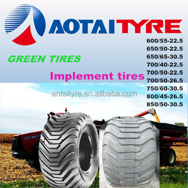 High quality Agricultural Flotation forestry tires 700/50-26.5