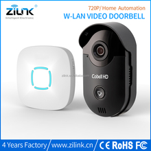 Zilink Cobell HD wifi door phone support 2 way audio ip wifi doorbell