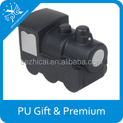promotional train engine stress reliever polyurethane