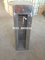 FY-C084-253/254 Hospital File Cart Stainless Steel Medical Record Trolley Holder Price