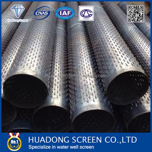 168*5 water well casing strainer pipe used in water supply systems