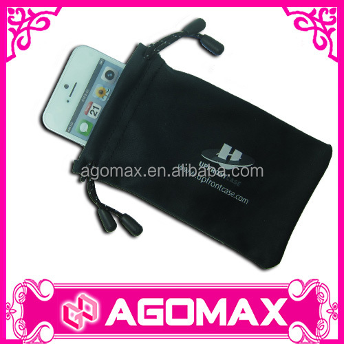 Corporate gifts magic microfiber cleaning pouch for iPhone 5