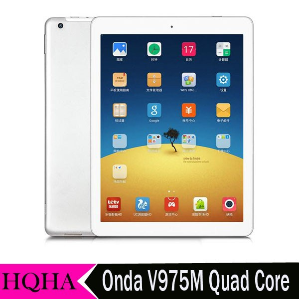 Onda V975m 2GB RAM 32GB ROM Amlogic M802 RK3166 Quad Core V975S Tablet PC 9.7inch Retina IPS 2048*1536