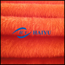 100% polyester velboa fabric/super soft fabric for textiles cat clothes
