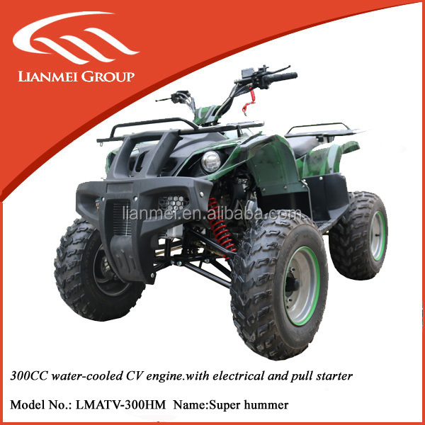 300cc large bull atv quad atv king quad atv