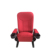 China manufactrue full fabric cinema chair for sale red lecture chair