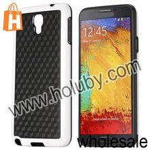 2014 Stylish Football Cube Pattern TPU Back Cover Case for Samsung Galaxy Note 3 Lite N750 Neo N7500 N7505