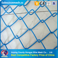 High Performance Best price Popular green chain link fence