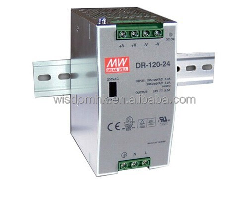 DR-120-24 FOR Meanwell Power Supply
