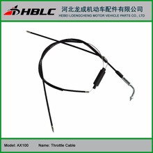 motorcycle parts AX100 accelerator cable for SUZUKI