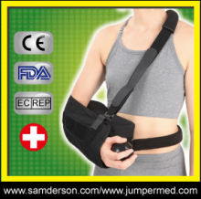 adjustable black medical arm support slings