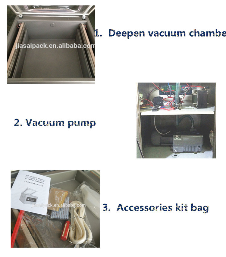 2016 New type Deepen vacuum packaging machine DZ400SD rice packaging machine