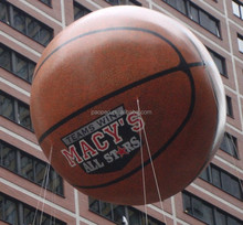 2016 inflatable basketball helium balloon can be customized