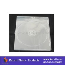 Portable cd dvd carrying case, plastic cd storage case