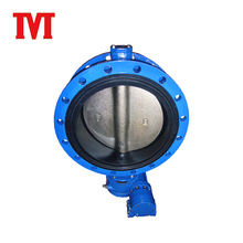 high quality dezurik full lugged flange butterfly valve