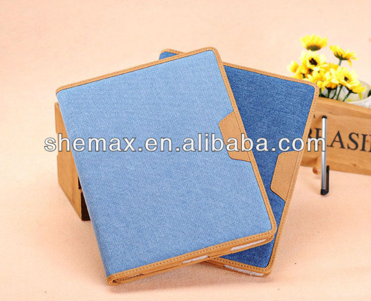 2015 New style leather for the new ipad accessories