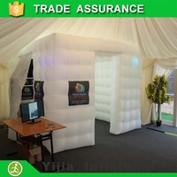 cheap inflatable cube photo booth tent