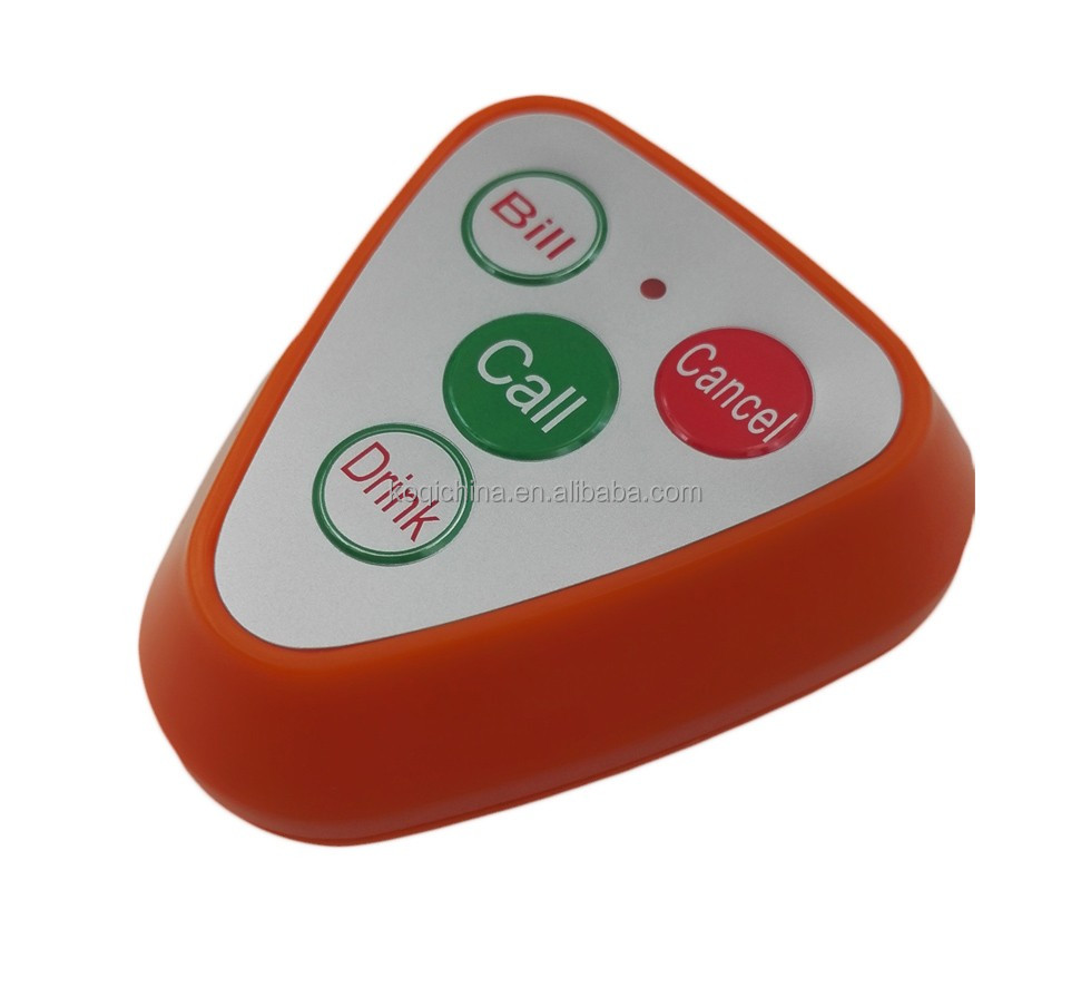 Ycall service push calling button to call waiter 433MHZ
