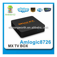 2014 best selling tv box android mini pc media player xbmc dual core mx android smart tv box