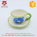 Wholesale Lovely Promotional Gift Ceramic Coffee Cups And Ceramics Saucers