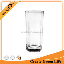 Hot Sale 220ml Octagonal Drinking Glass,Whisky Glass Cup