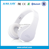 Creative Gagdet ALD06 Stylish Folding Over-ear stereo fashional great bass sound wireless blue tooth headphone